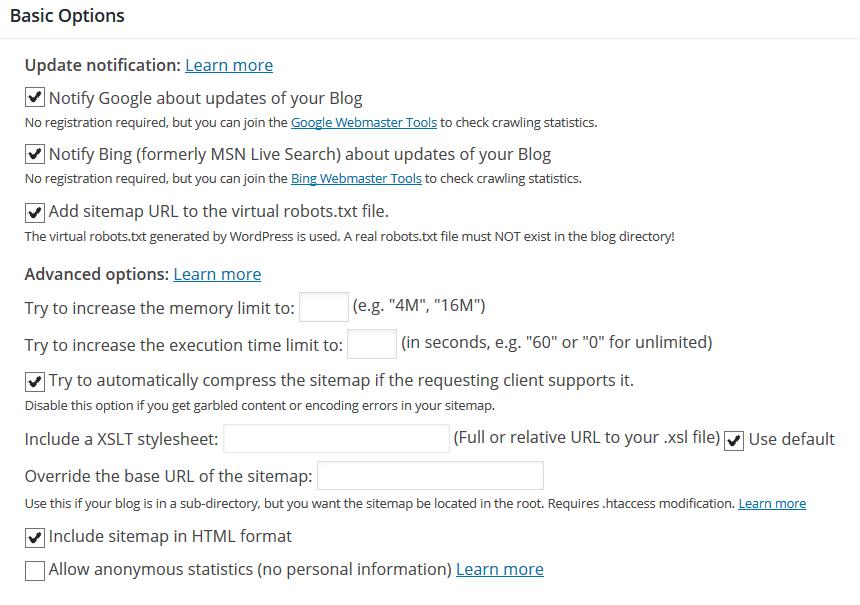ปลั๊กอิน google xml แผนผังเว็บไซต์