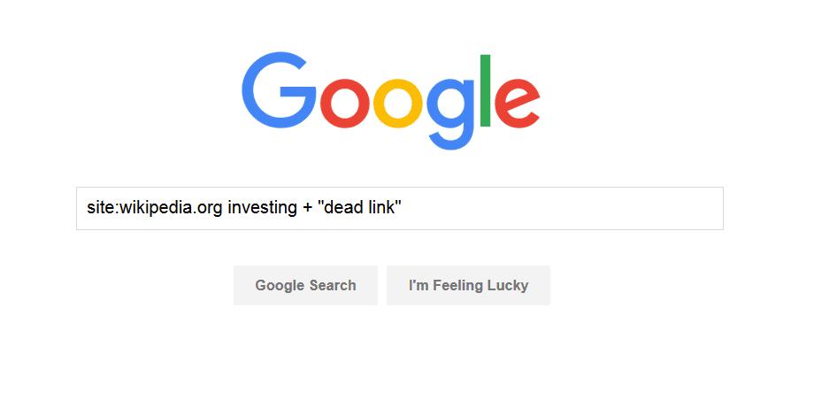 google search string