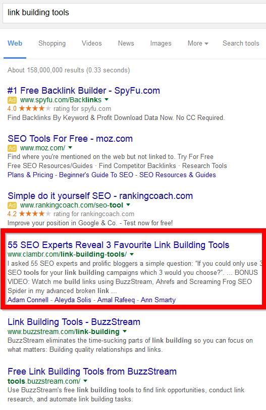 new google screenshot