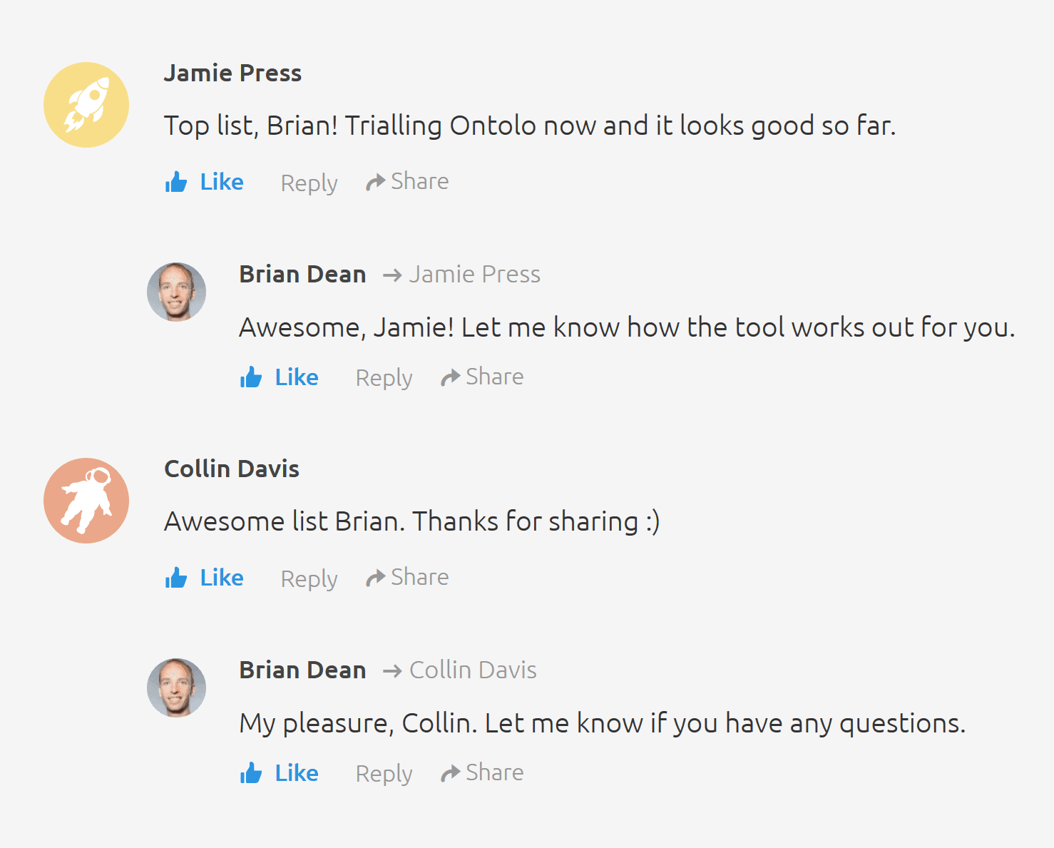 Comments on a guest post