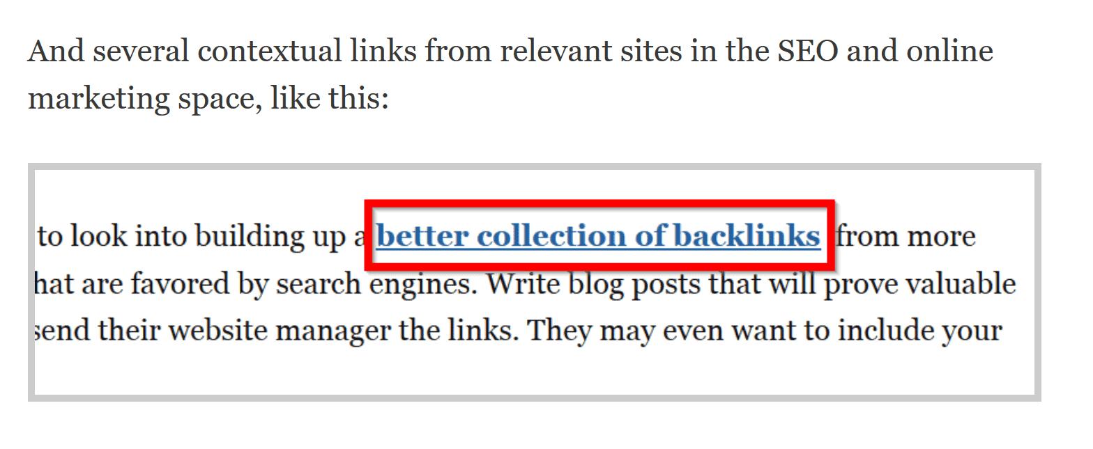 contextual backlink