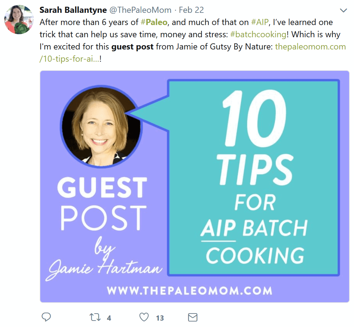 guest post result