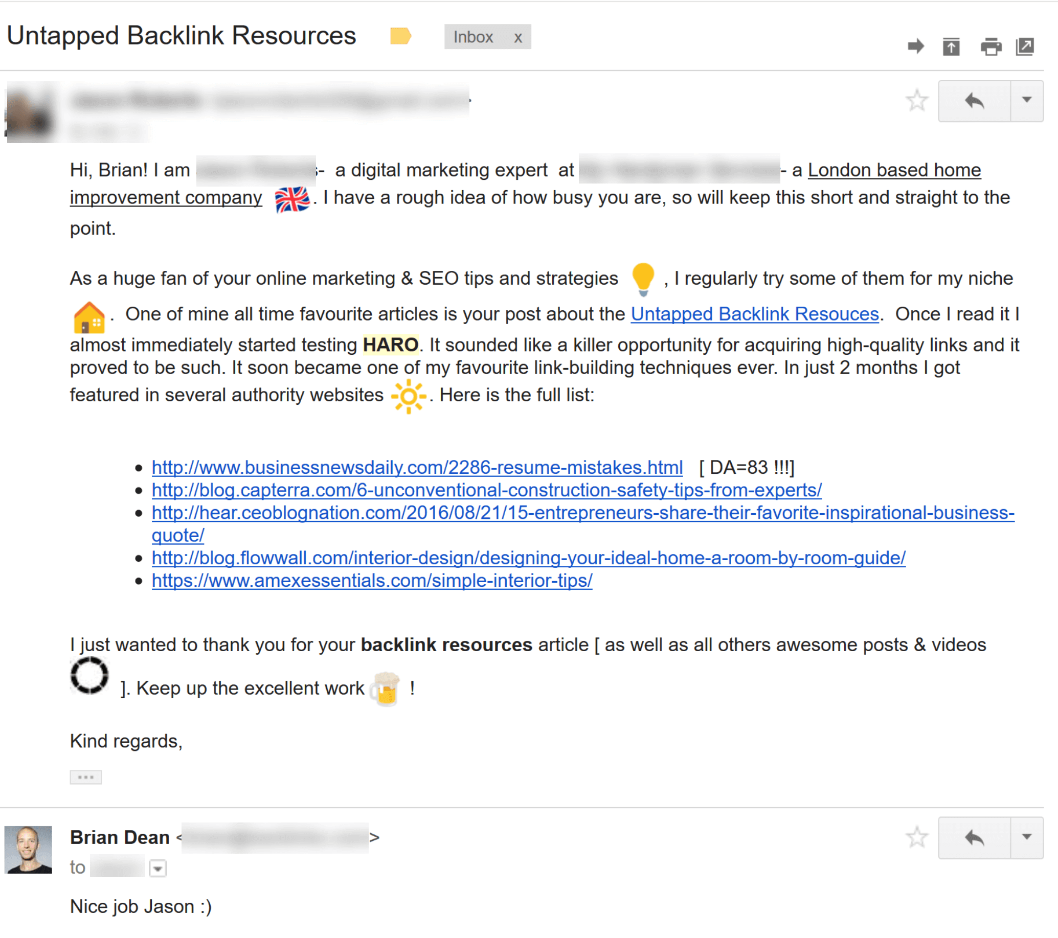 links email