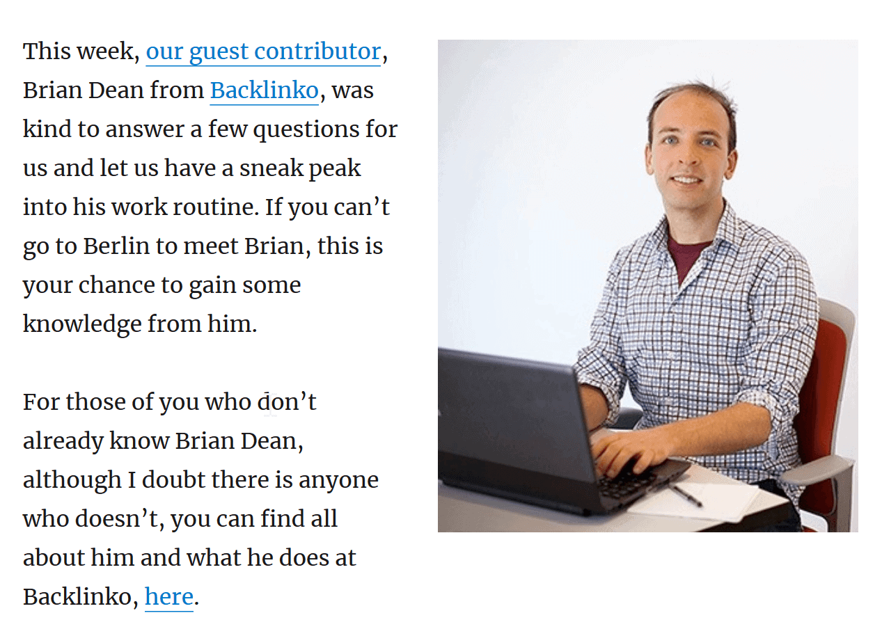 niche site guest post
