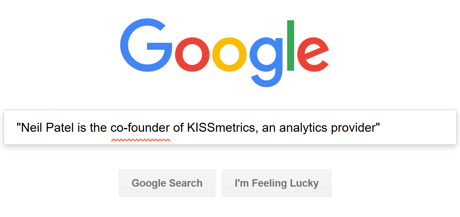 searching in google
