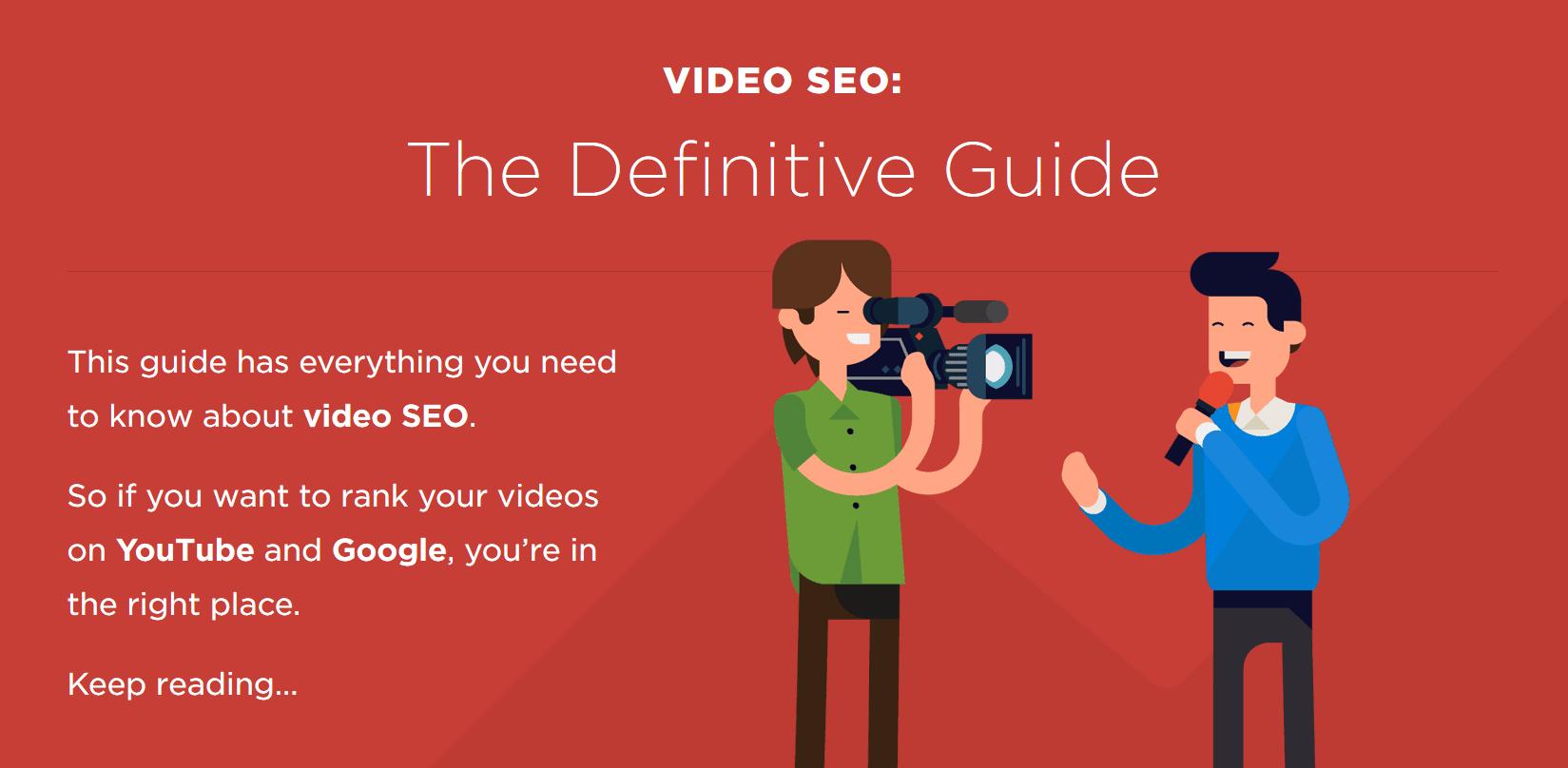 video seo guide