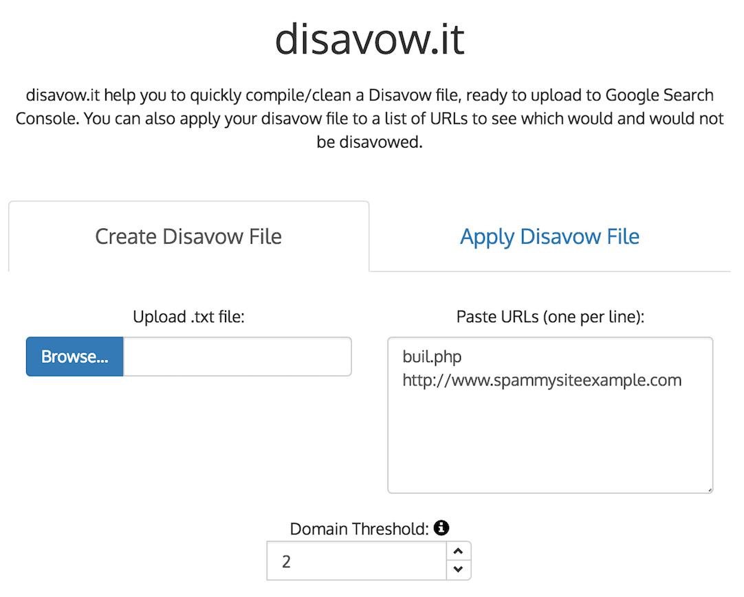 disavow.it