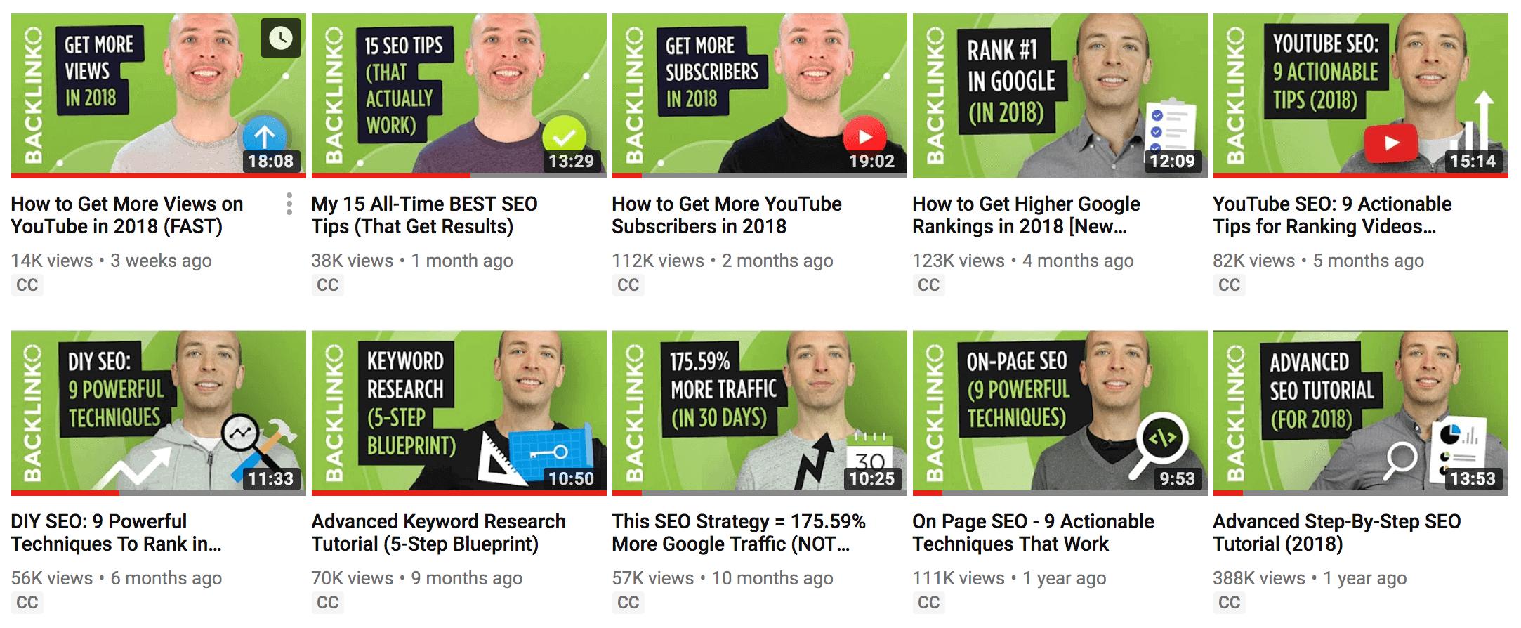 Backlinko thumbnails