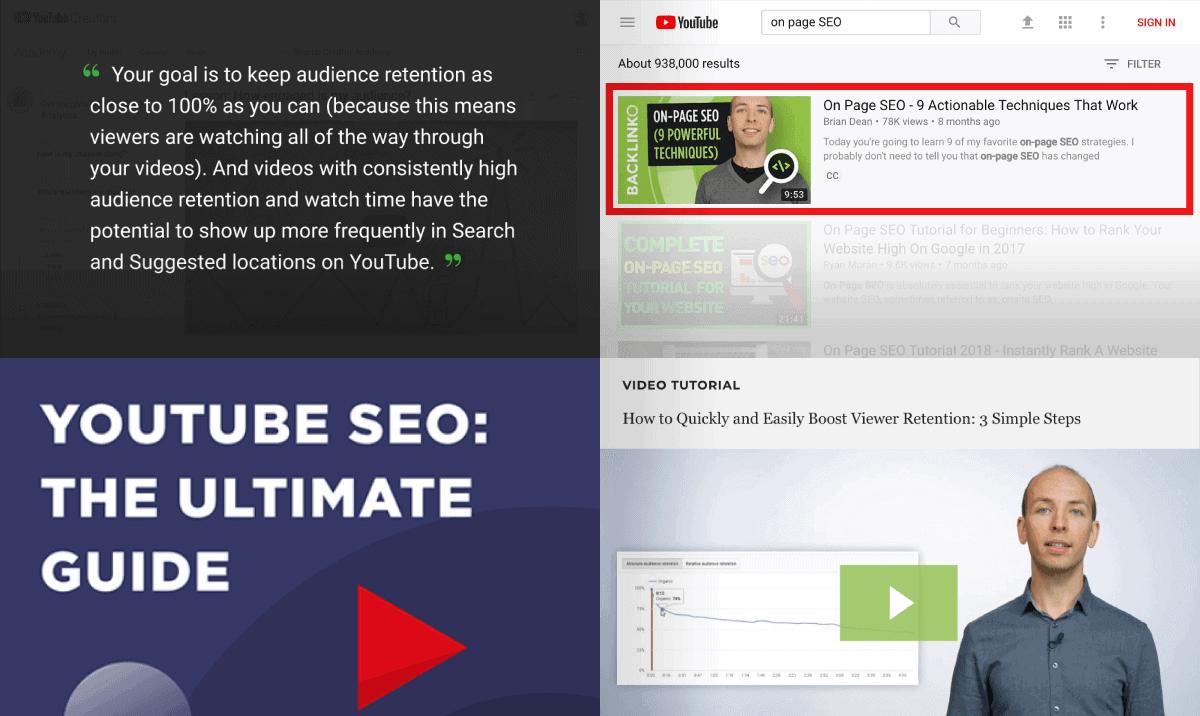 YouTube SEO Guide – New stuff