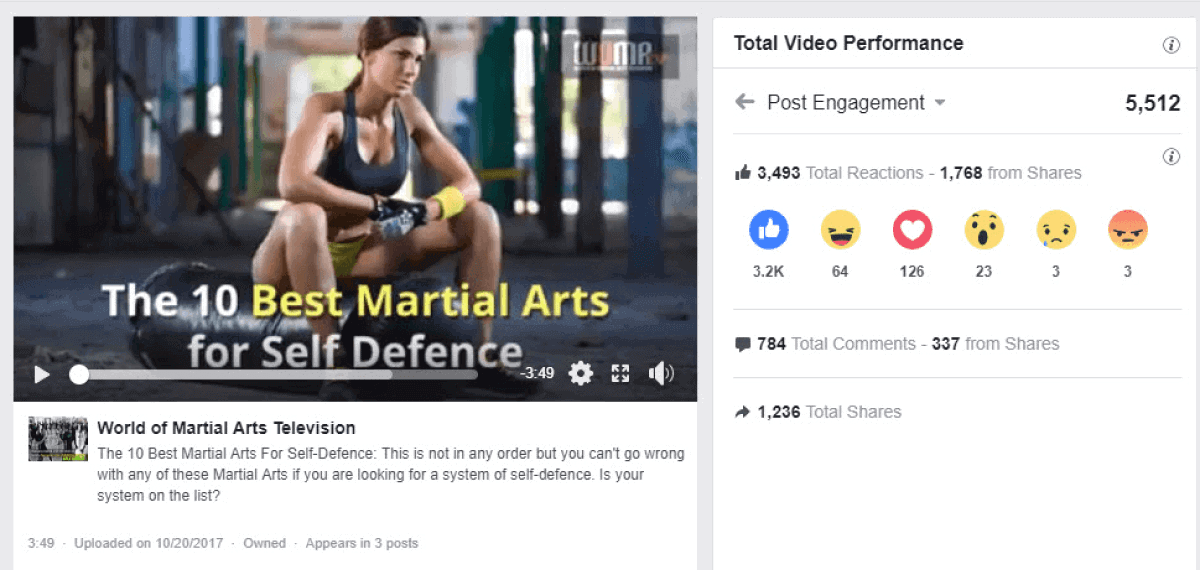 Andrew Facebook video