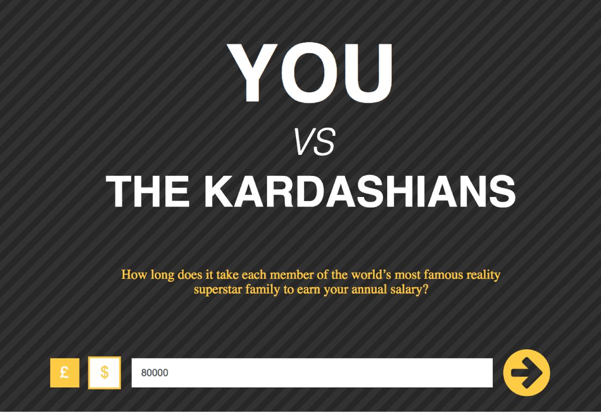 You .vs. Kardashians