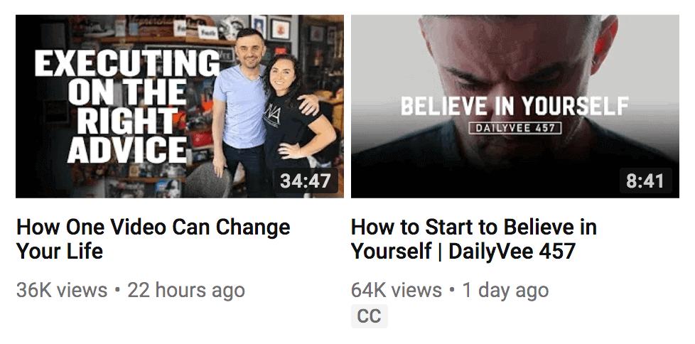 Gary Vee videos