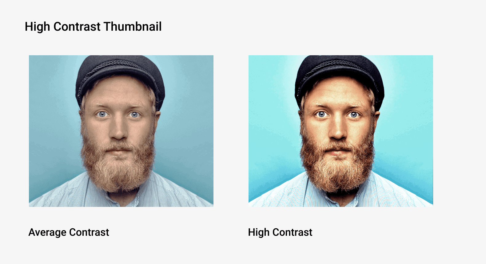 High contrast thumbnail