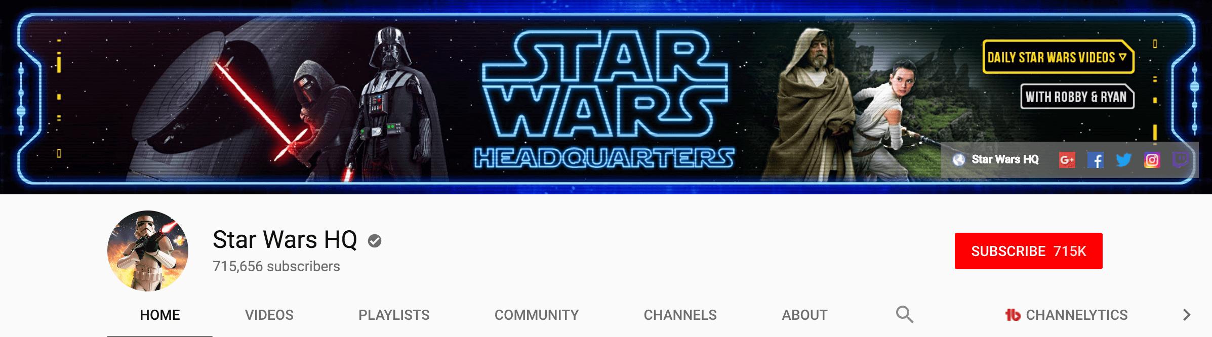 Channel art
