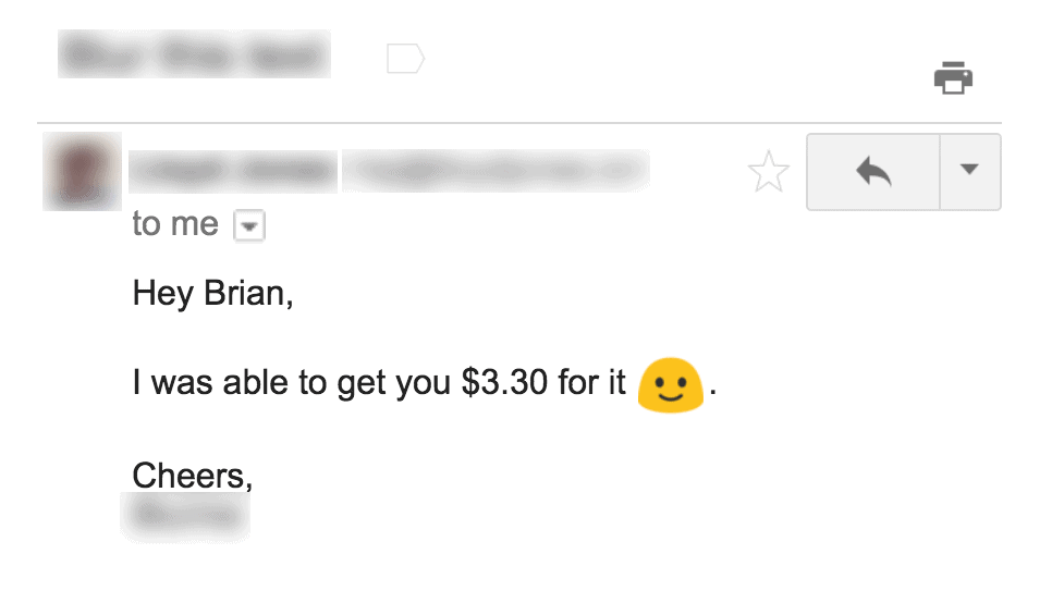 Affiliate manager response