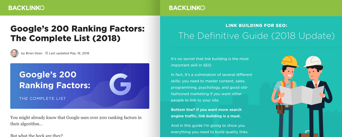Google Ranking Factors and Link Building