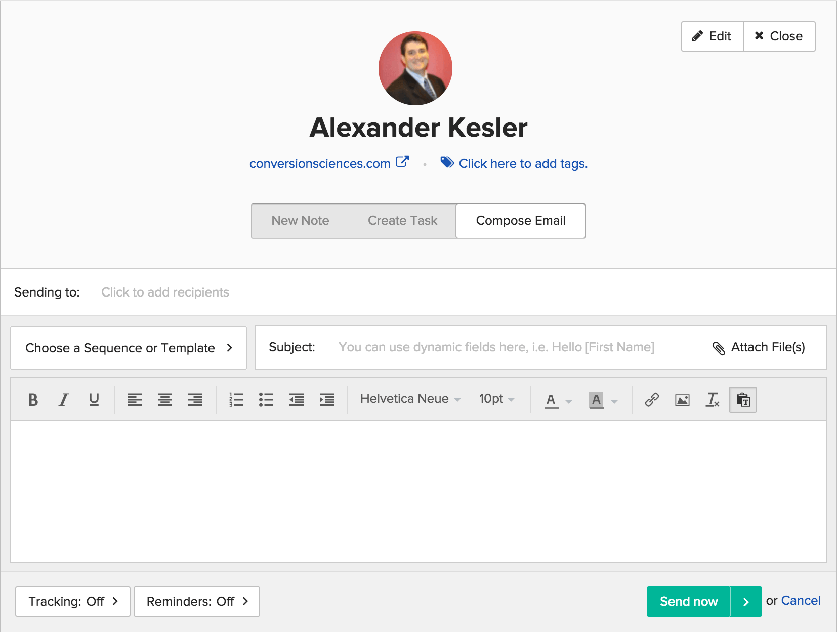 BuzzStream – Email outreach