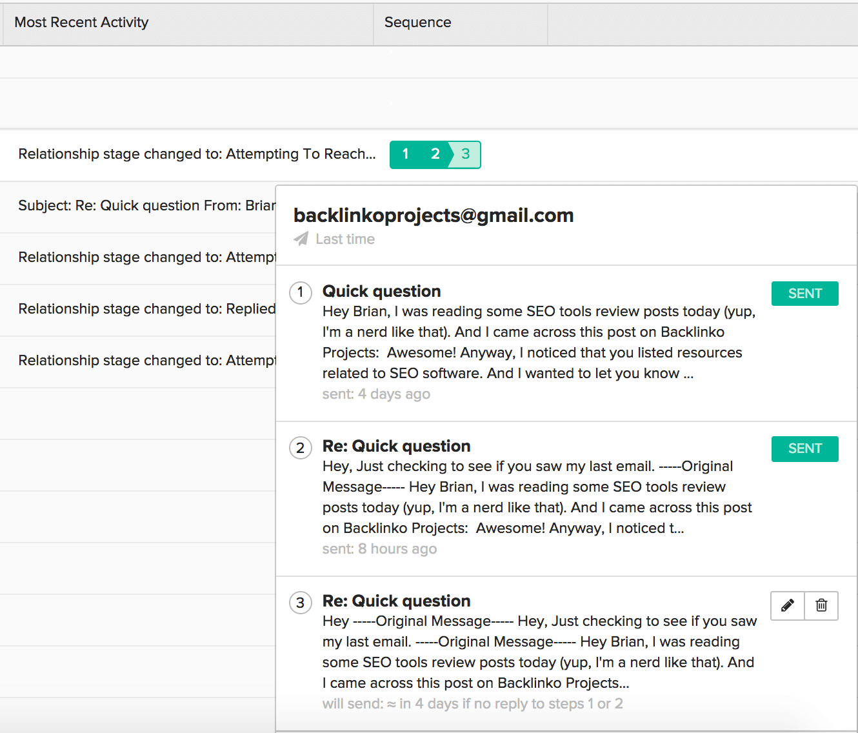 BuzzStream – Reporting