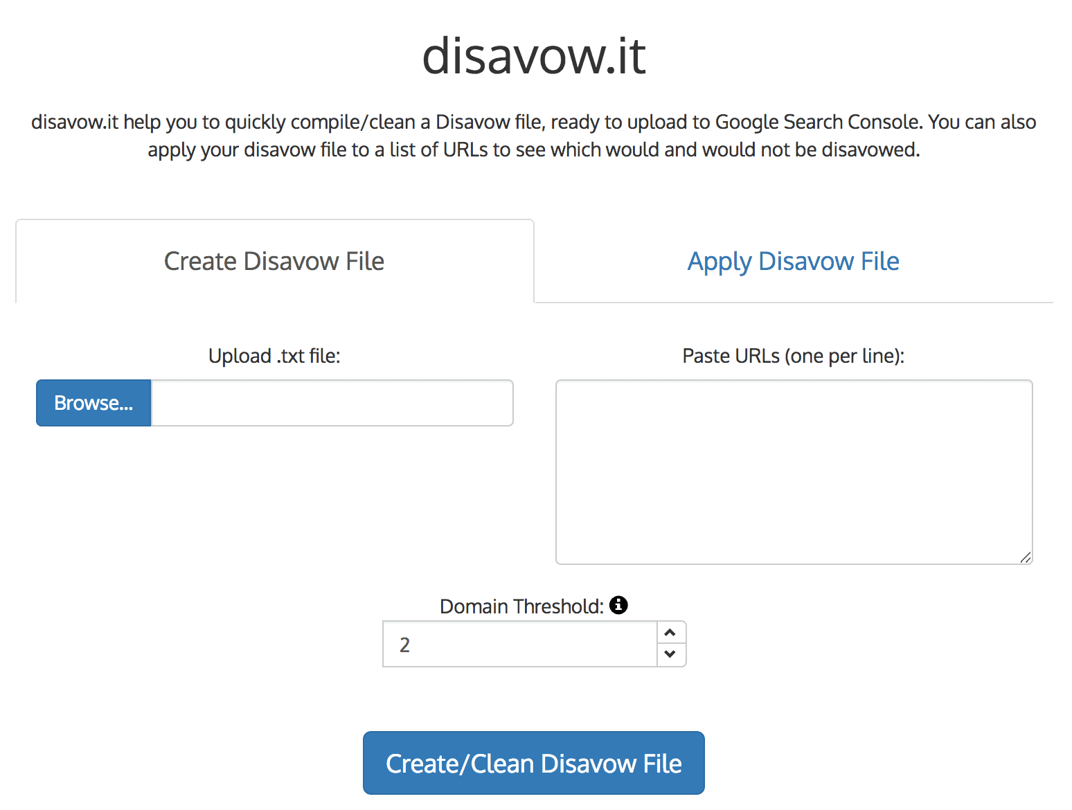 Disavow.it