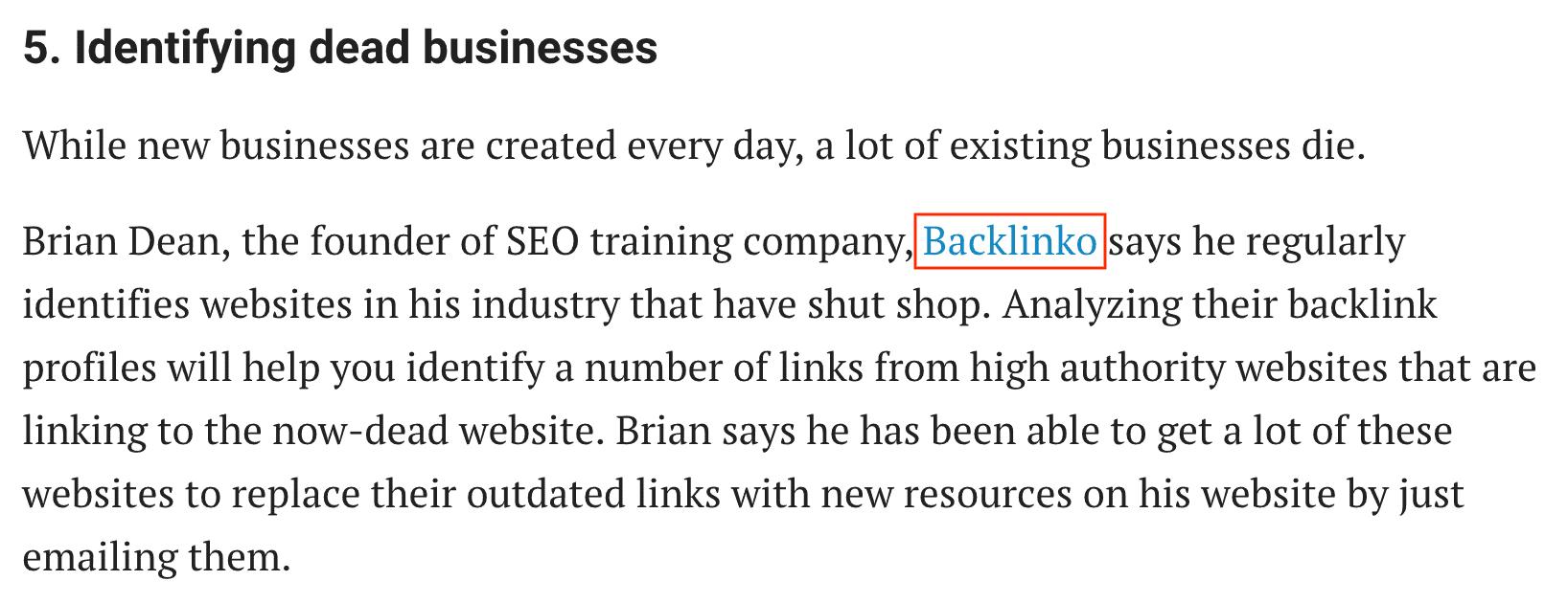 Entrepreneur – HARO link
