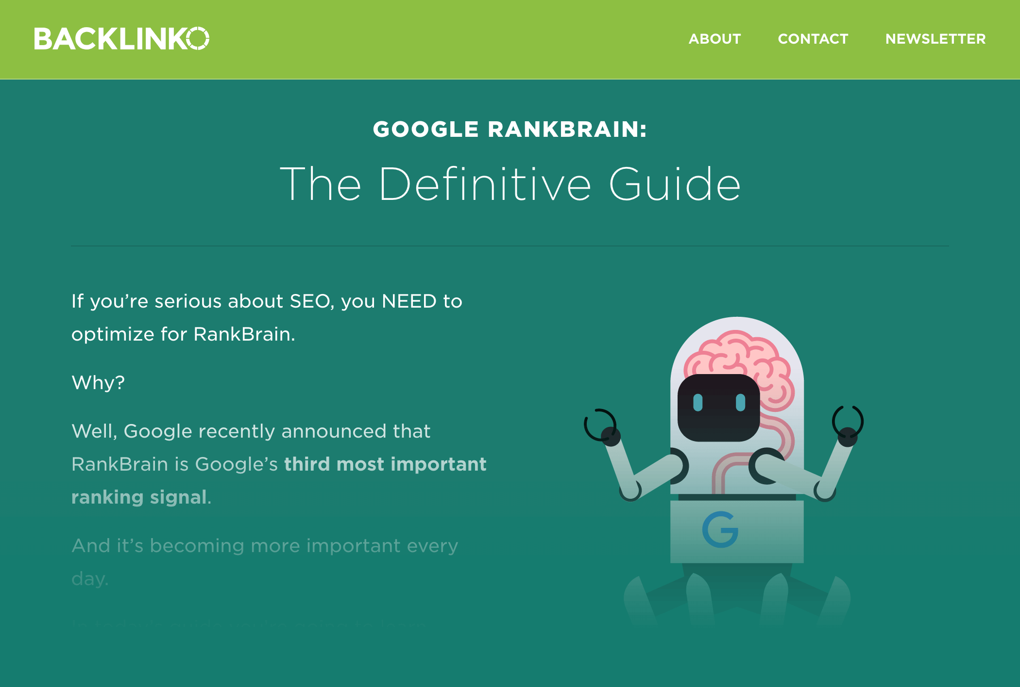 Google RankBrain Guide