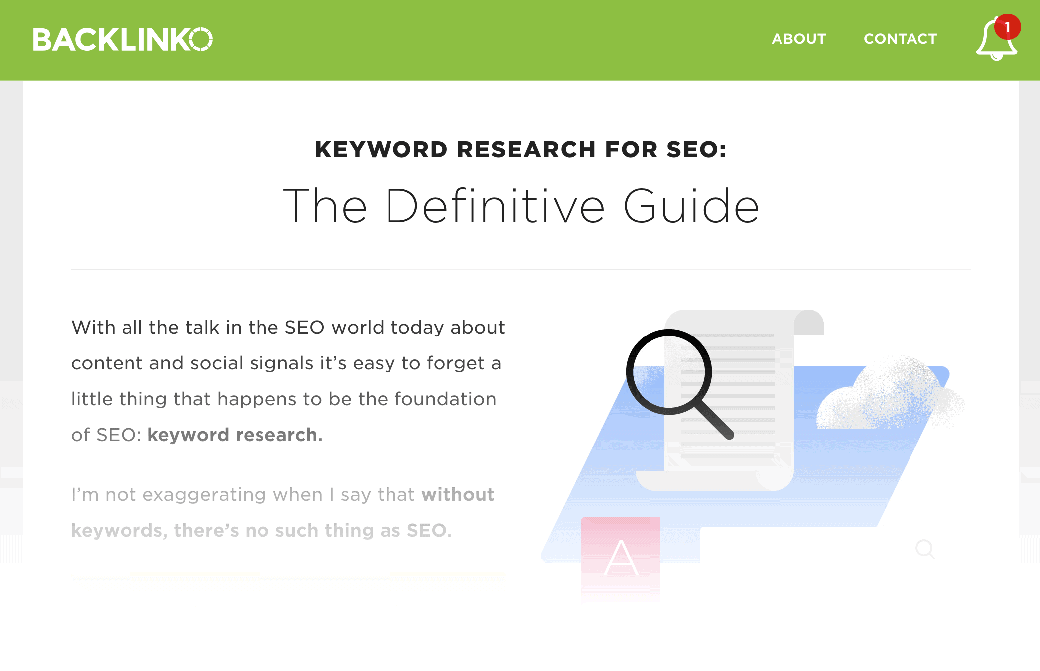 Keyword Research – Ultimate Guide