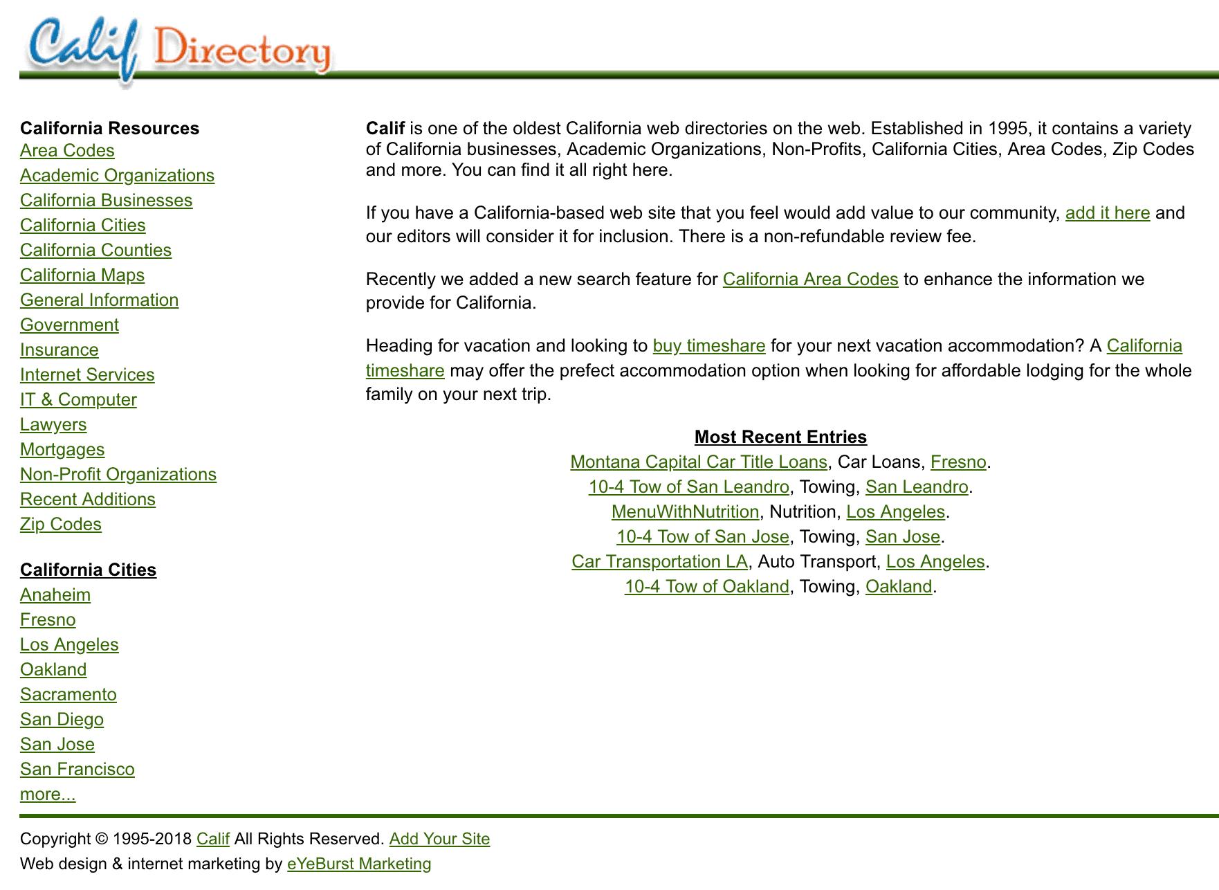 Niche specific directories