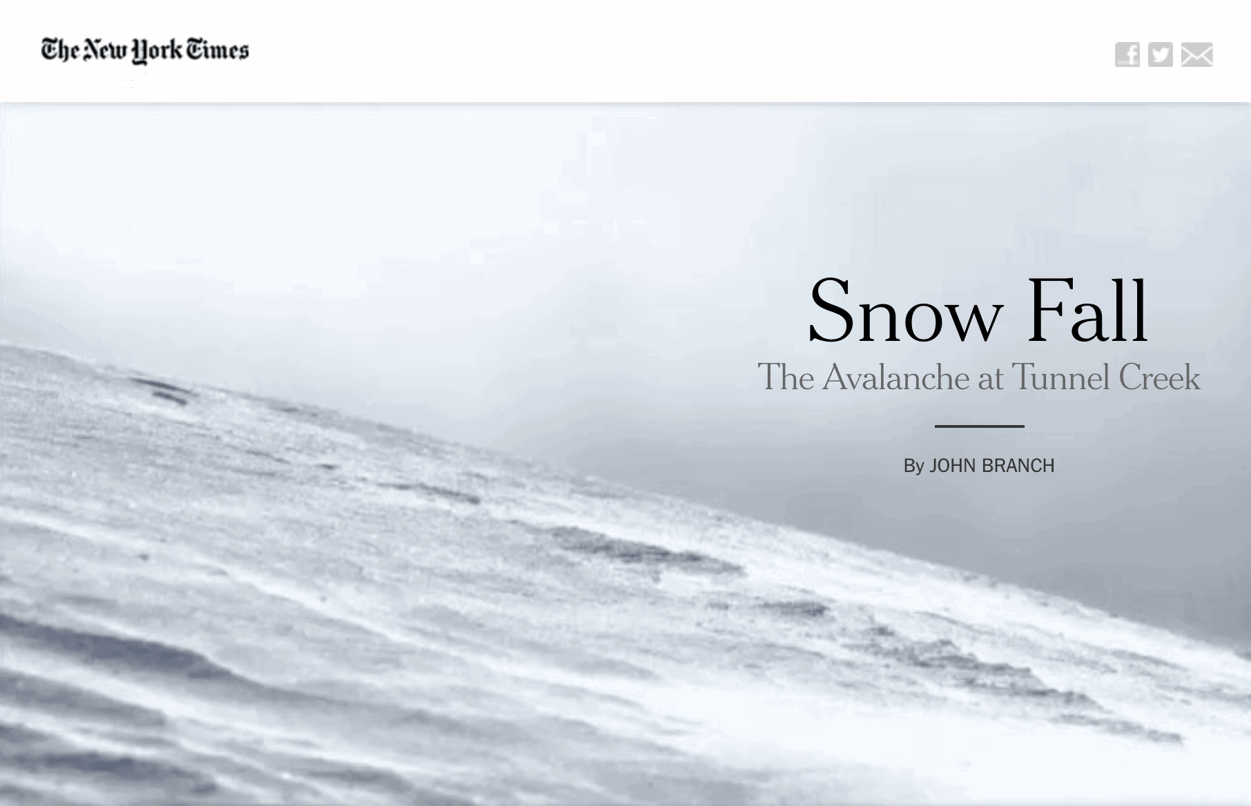 NYTimes – Interactive content (top)