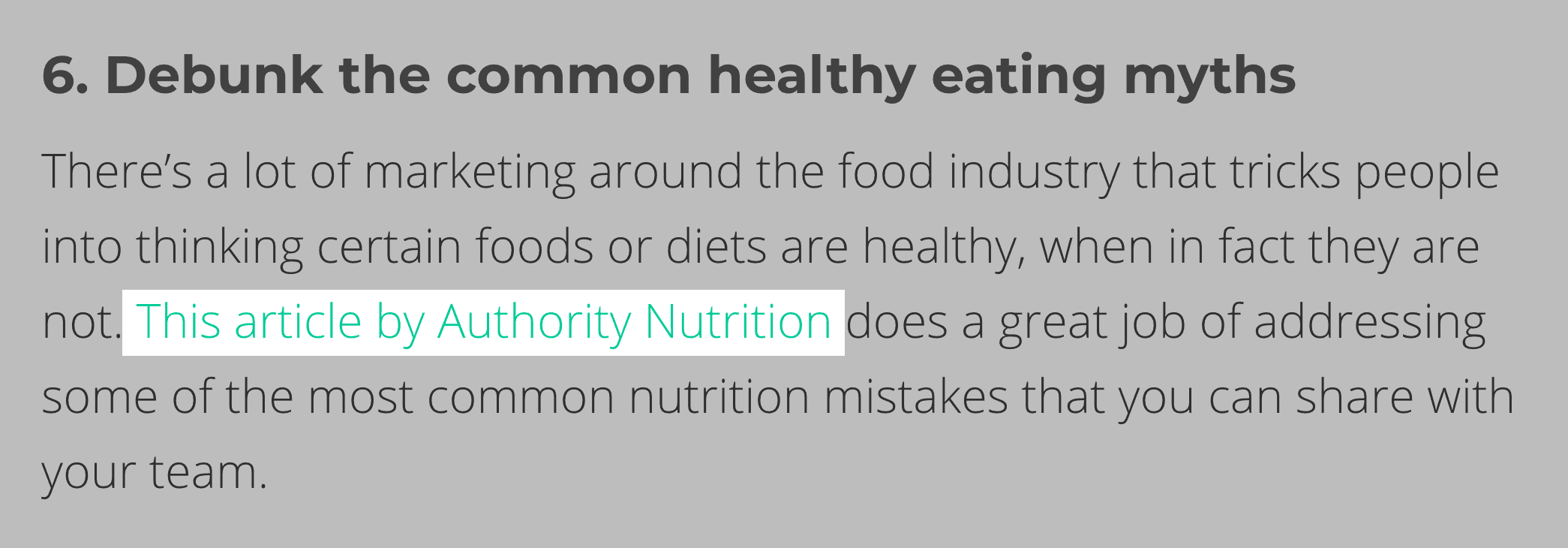 Emil – Authority Nutrition mention