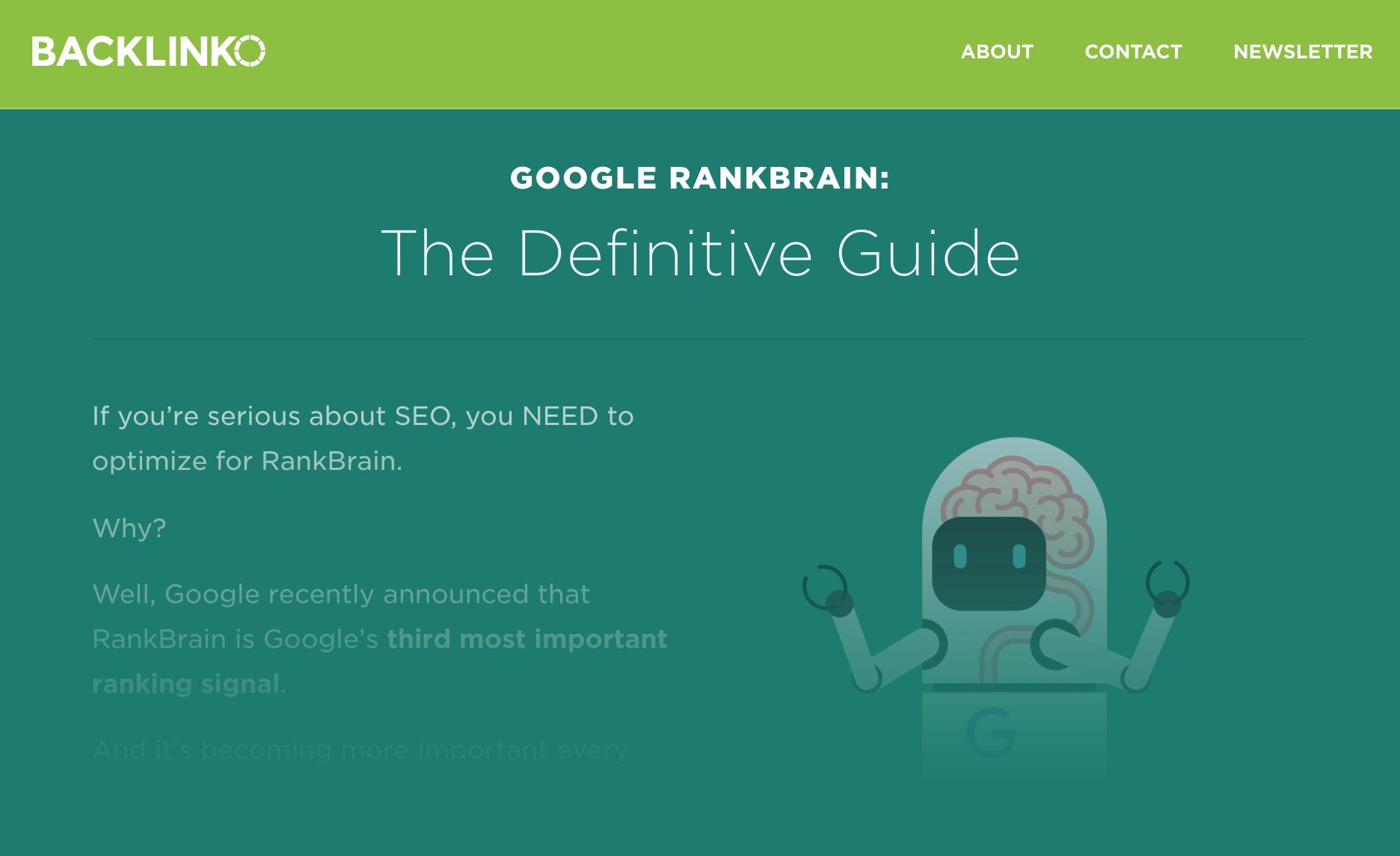 Google RankBrain SEO – Post