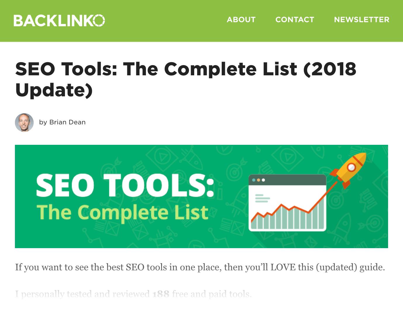 SEO Tools post