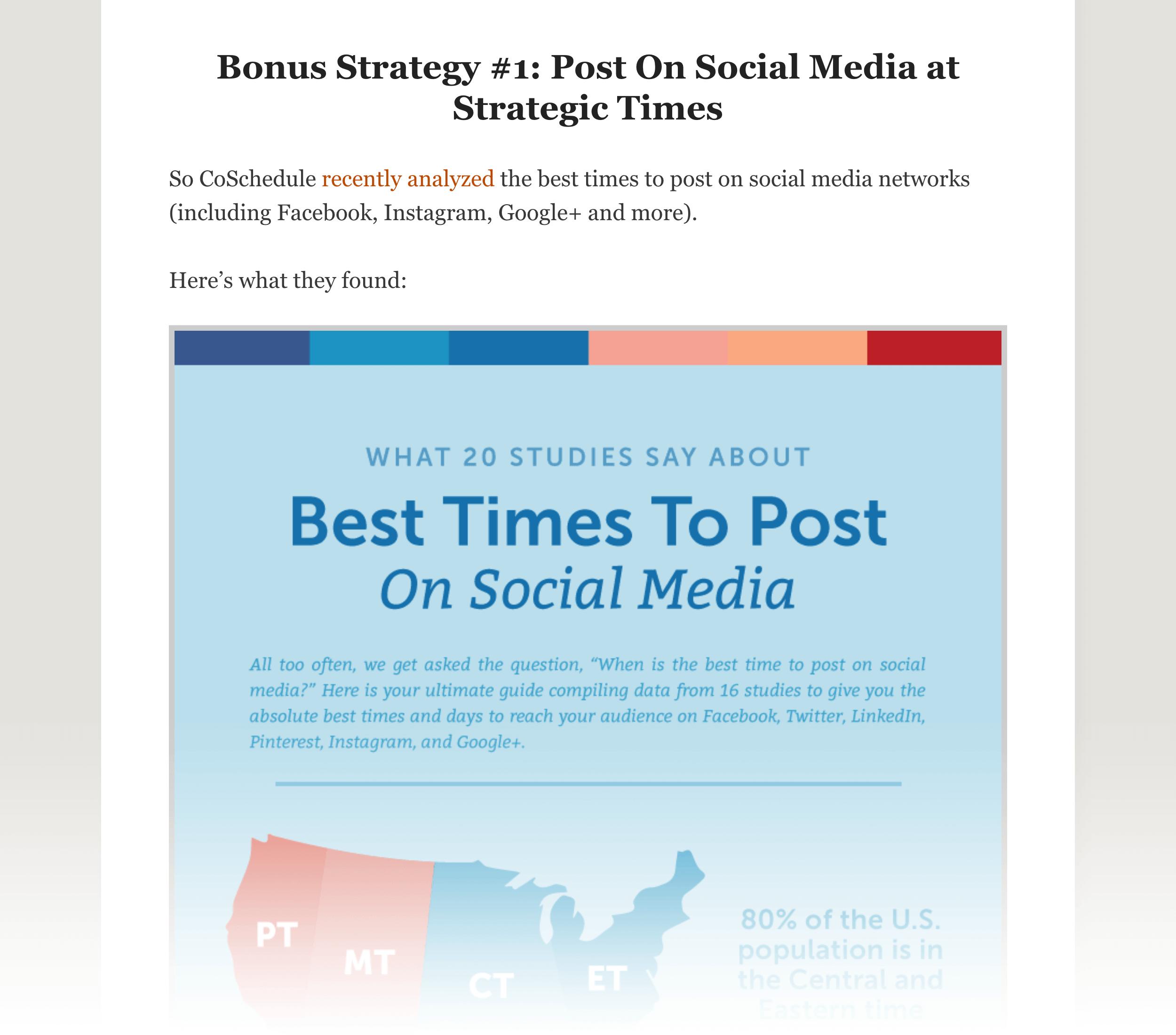 Bonus strategies