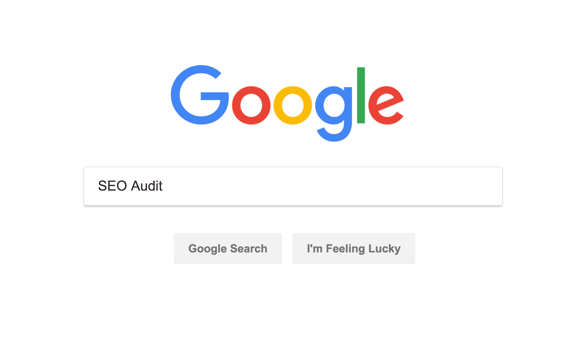 Google SEO Audit
