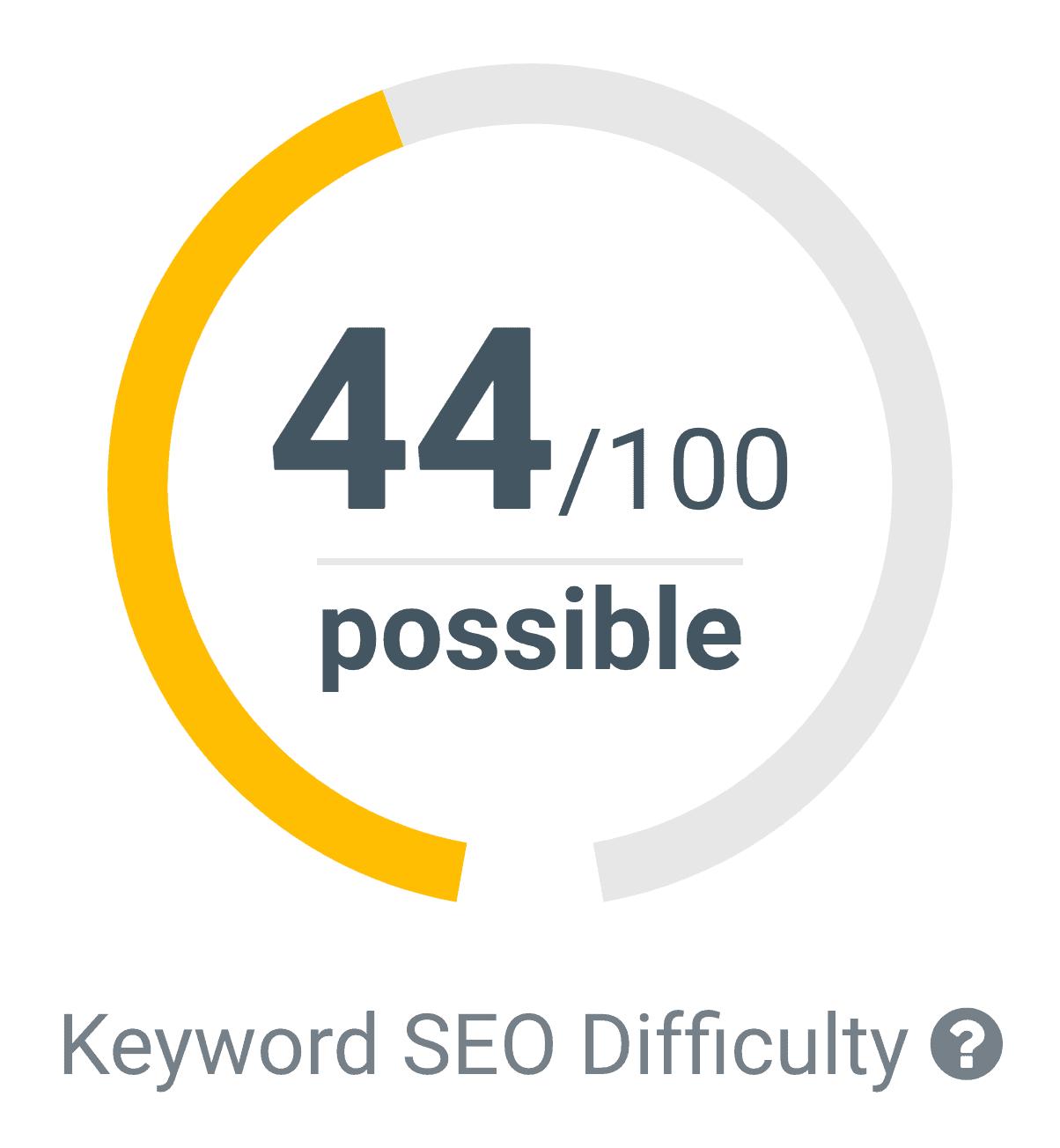 KWFinder – Keyword Difficulty