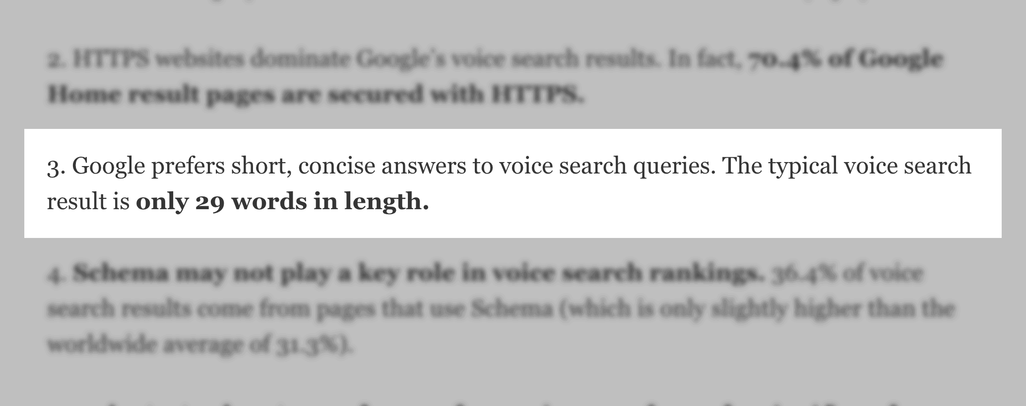 Voice Search study stat