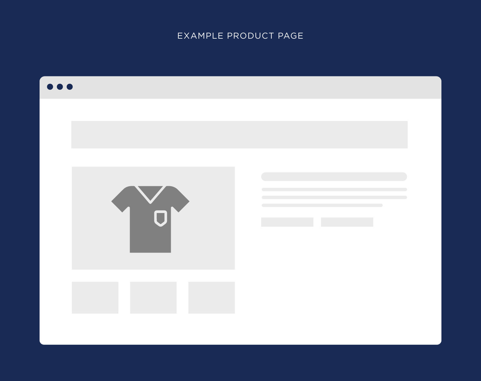 Example product page