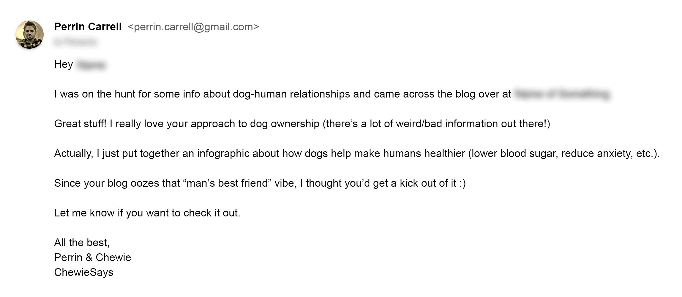 Feeler email