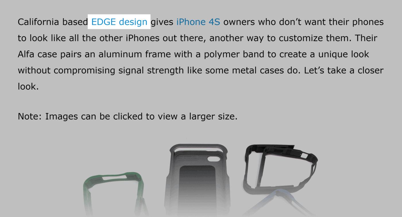 Gadgeteer – Edge Design