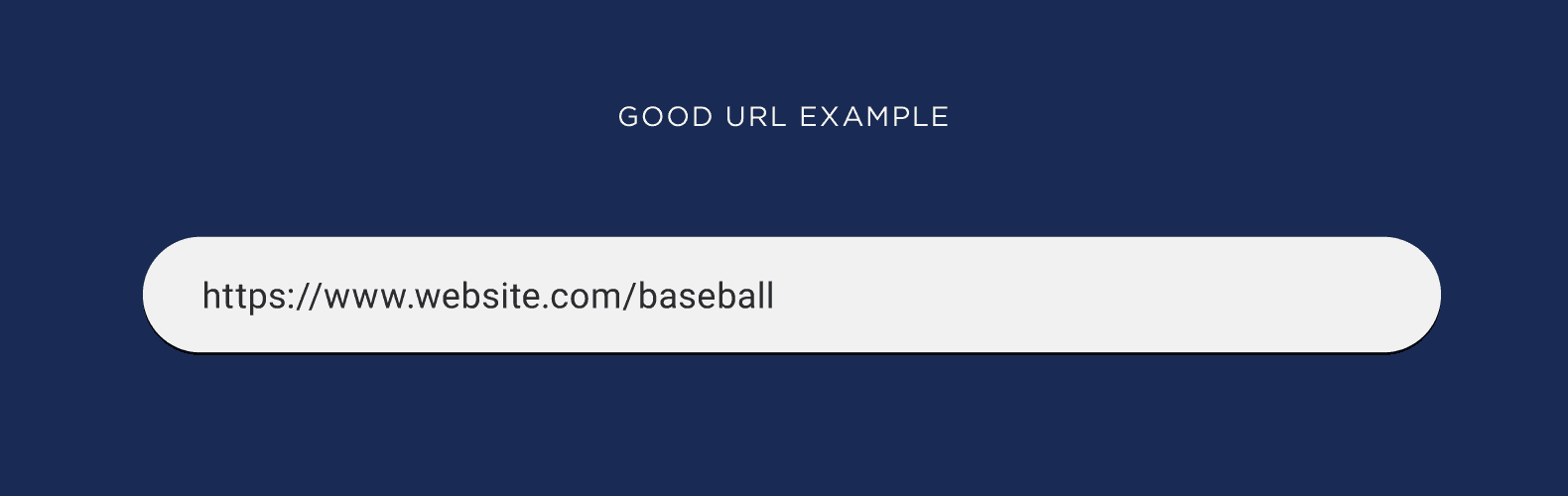 Good URL example