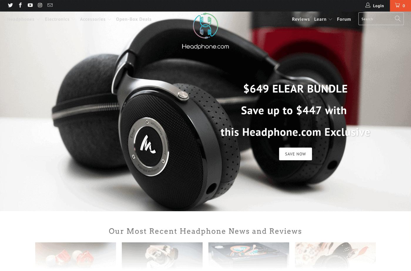 Headphone site