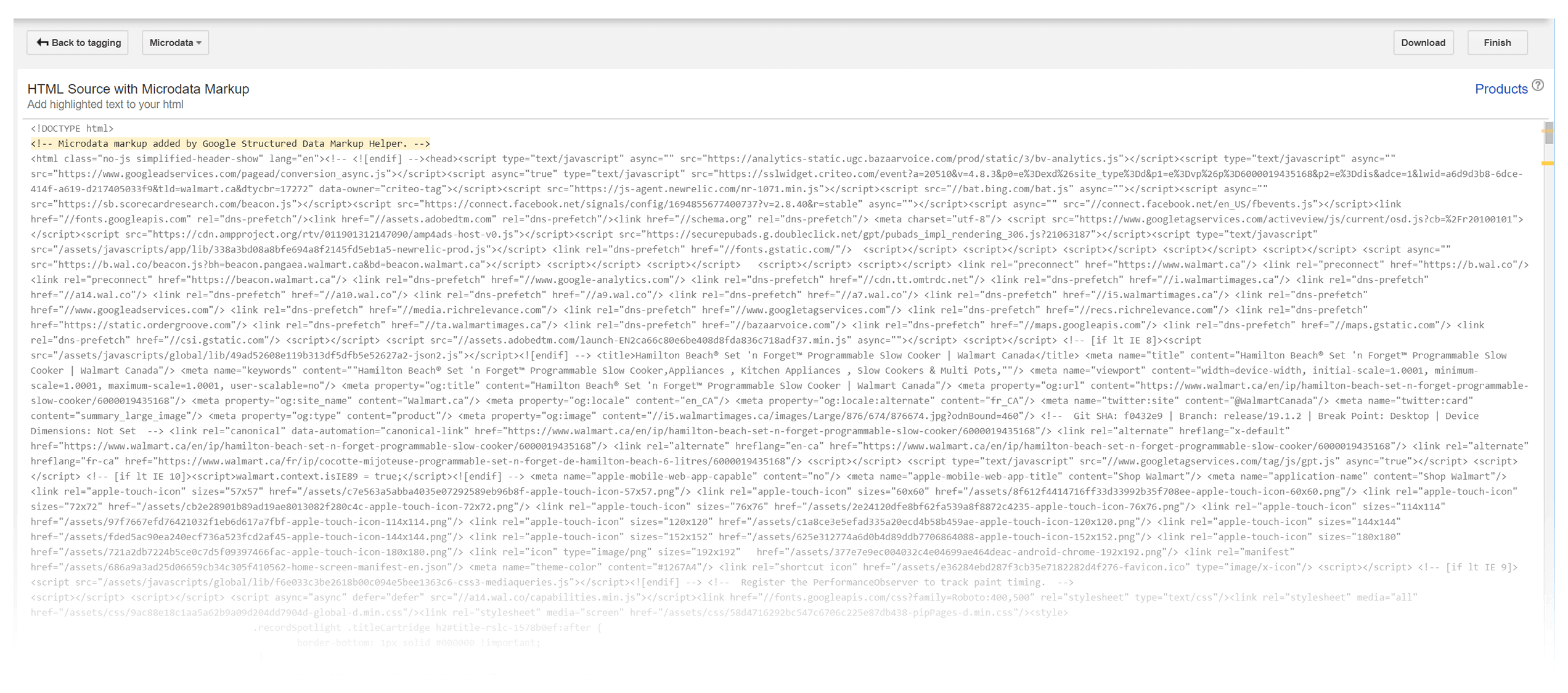 Markup Helper – Copy HTML