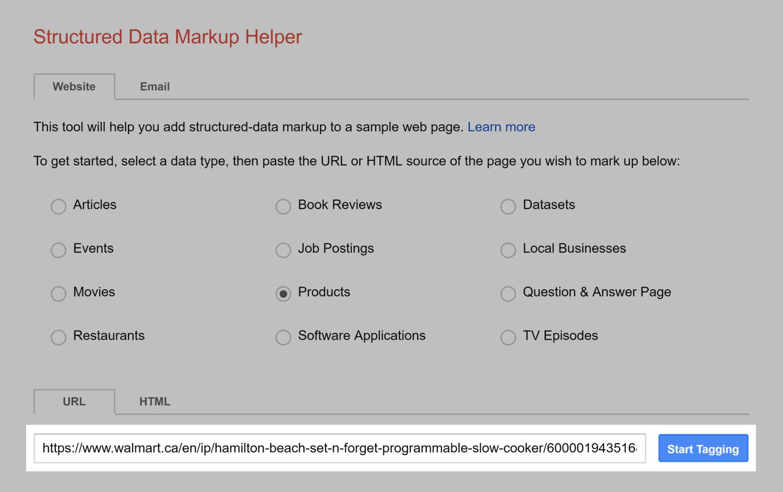 Markup Helper – Paste link
