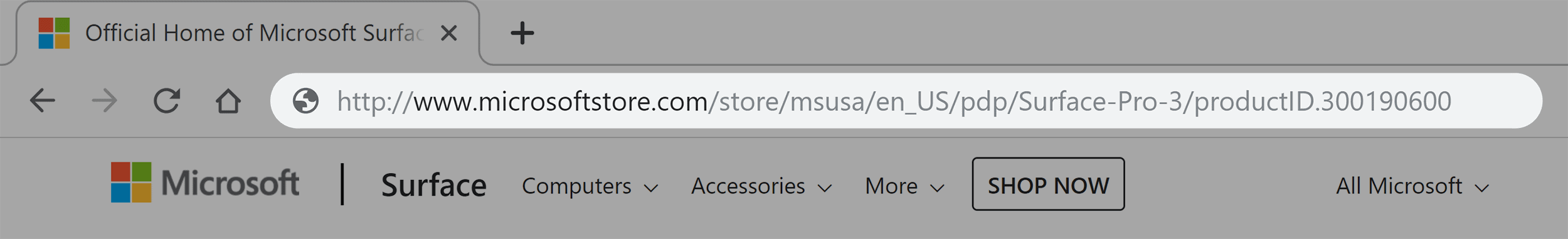 Microsoft link