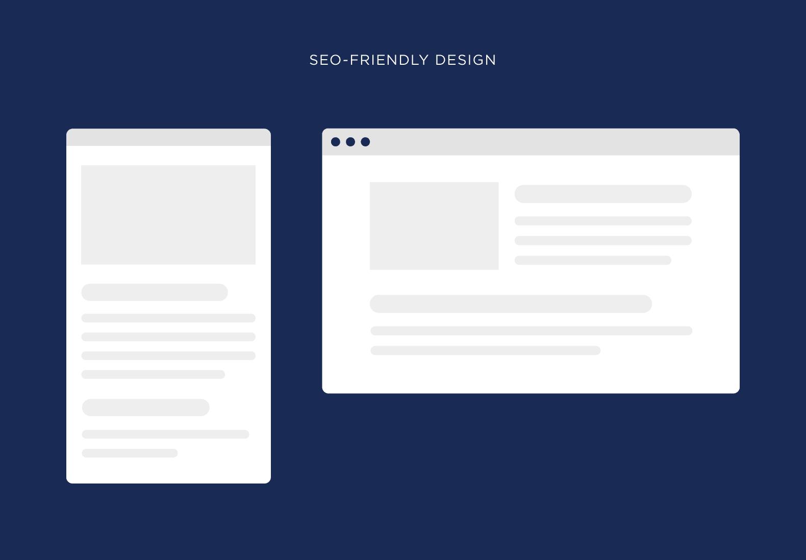 SEO-friendly design