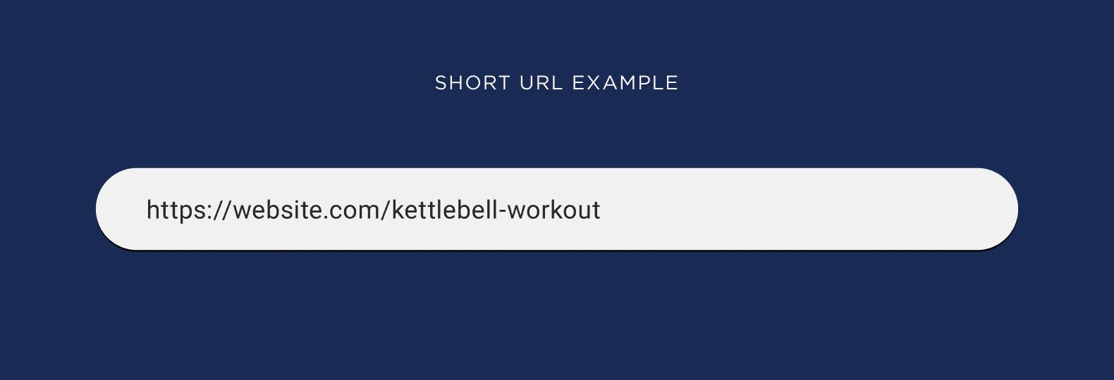 Short URL example