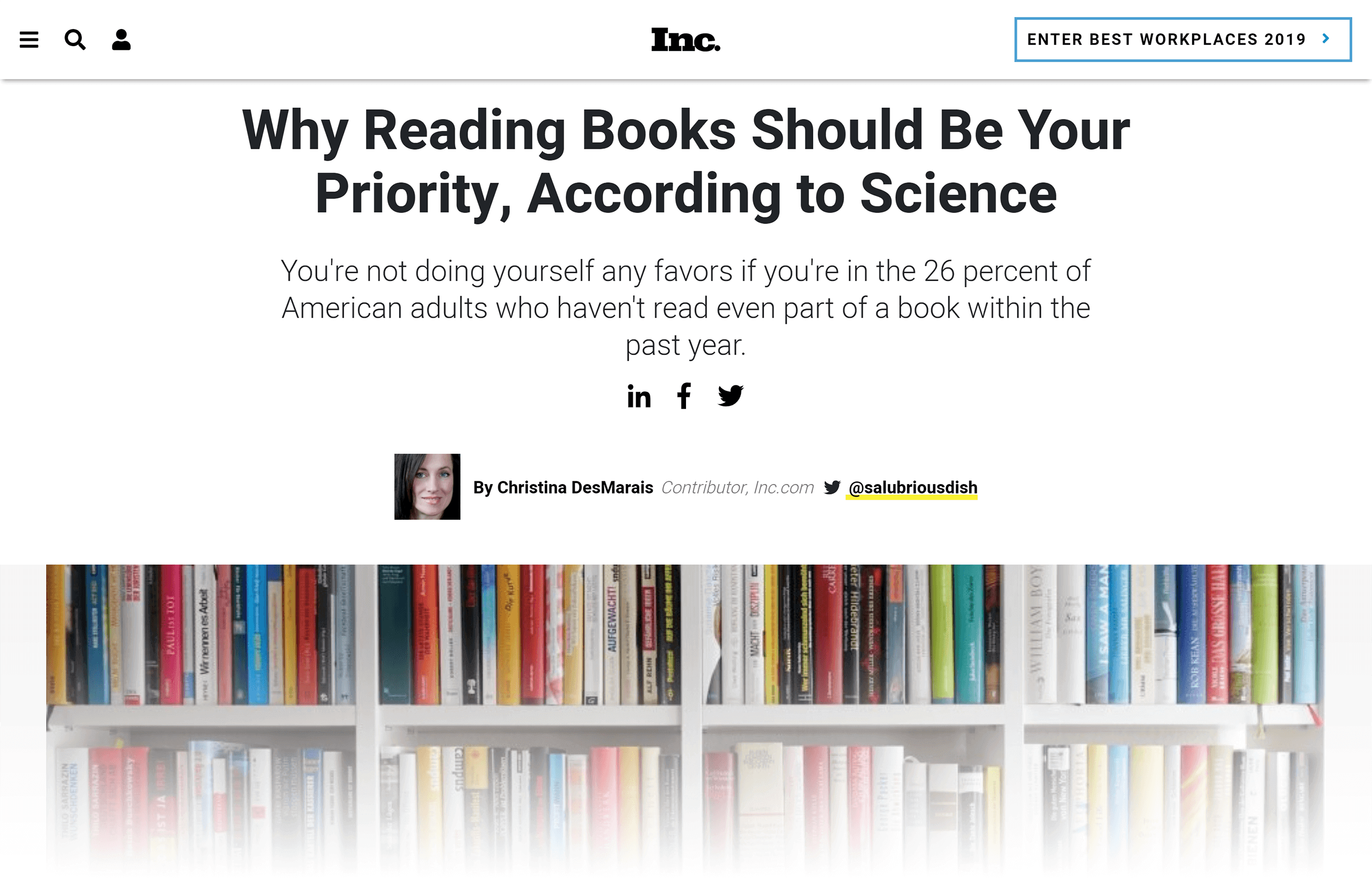 Why reading books should be your priority