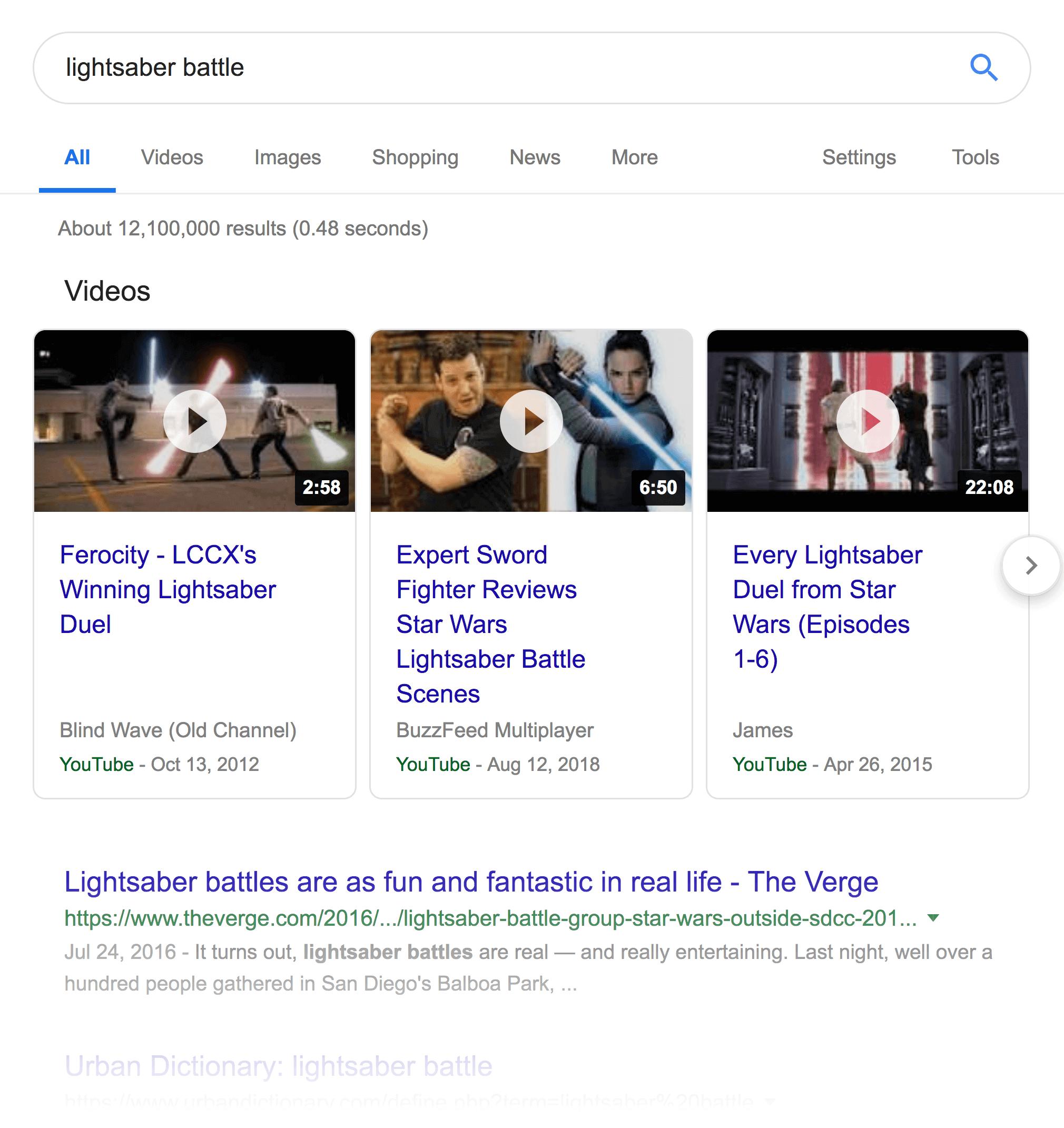 Finding video keywords