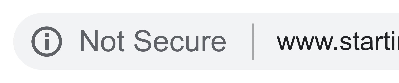 Not-secure website