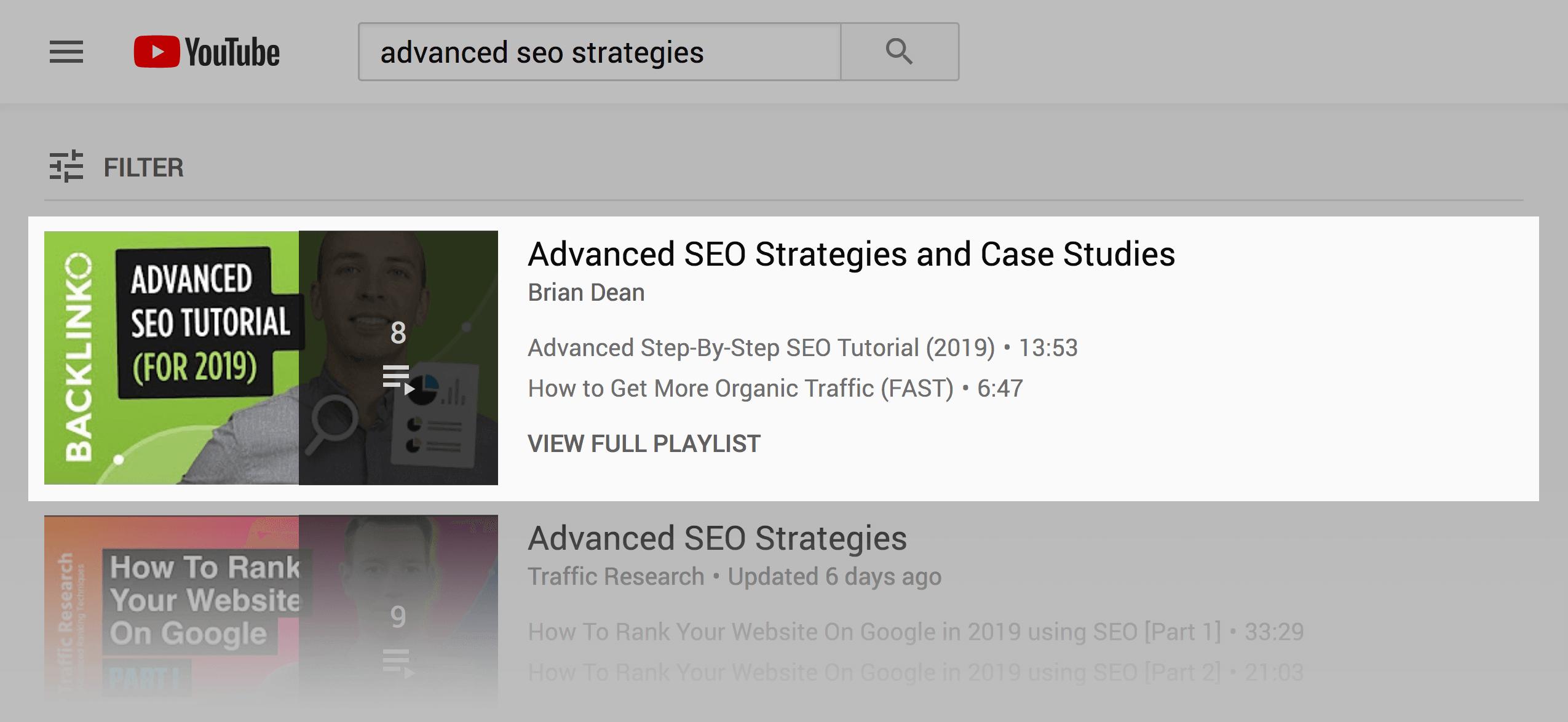 Optimize playlists