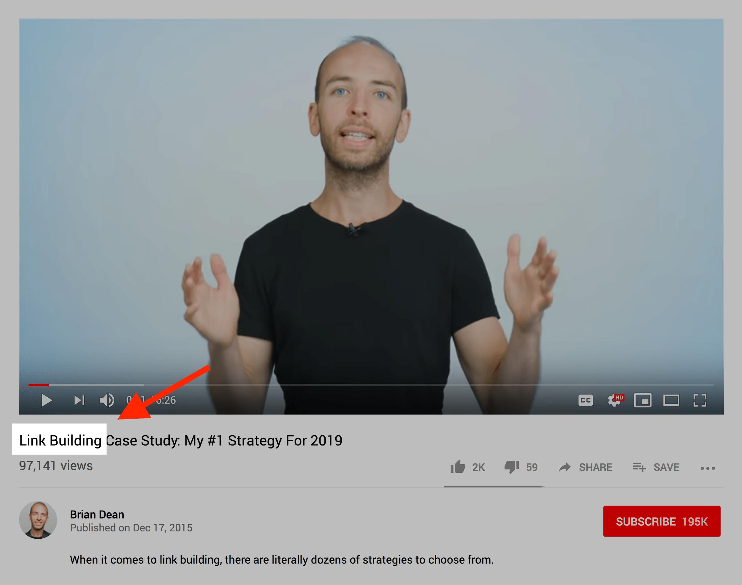 Video title goals